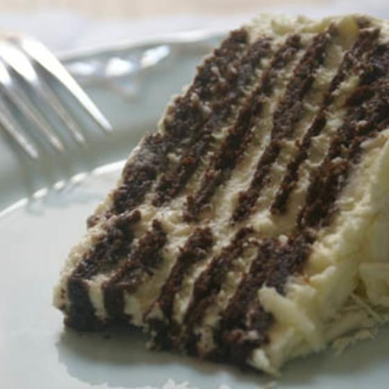 Megan Moore's White Chocolate Lavender Icebox Cake