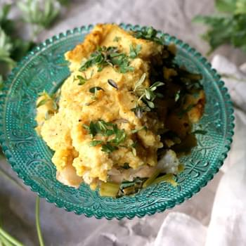 Herbed Cauliflower Gratin