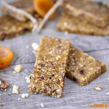 Vegan Apricot Energy bars