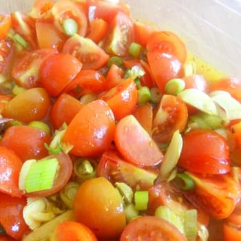 Indian Turmeric Tomatoes with Saffron – The Perfect Summertime Salad