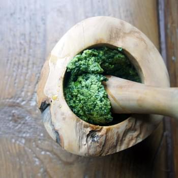 Coriander and Mint Pesto