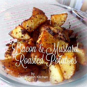 Bacon & Mustard Roasted Potatoes