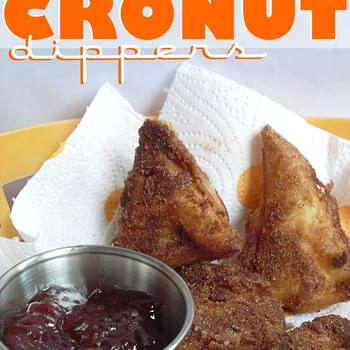 Fried Croissant Dippers