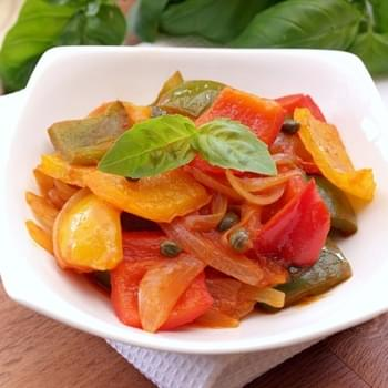 Peperonata With Capers