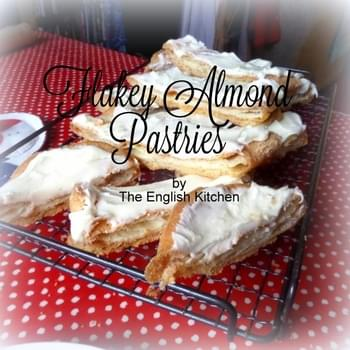 Flakey Almond Pastries