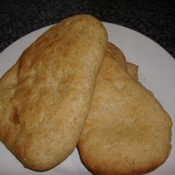 Jeena's Wholewheat Naan Bread