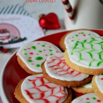 Cinnamon and Black Pepper Sugar Cookies