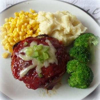 Glazed Meat Loaf Burgers