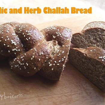 Garlic and Herb Challah Bread