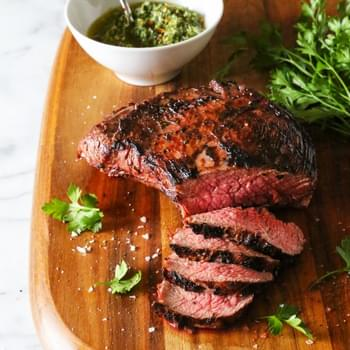 Grilled Tri-Tip with Salsa Verde