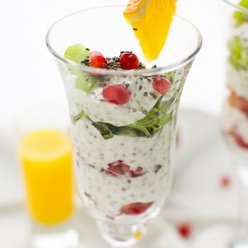 Light Winter Yogurt Chia Parfait