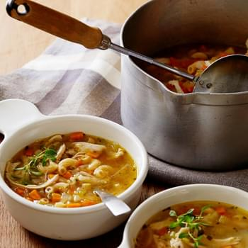Chicken Noodle and Vegetable Soup and The Daniel Plan Cookbook