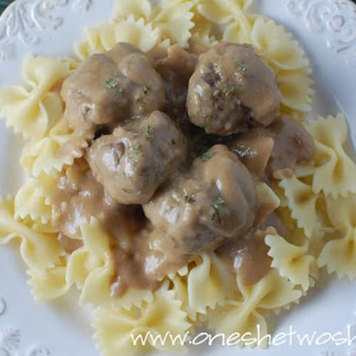 IKEA's Swedish Meatball Recipe (Knock-Off)…..Delicious!!