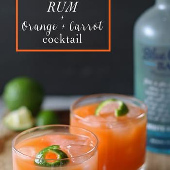 Rum + Orange + Carrot Cocktail and Giveaway