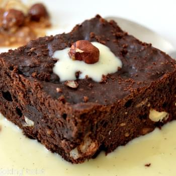 Tasty Chocolate and Hazelnut Brownie {Guest Post}