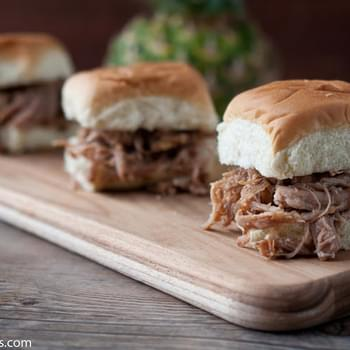 Hawaiian IPA Pulled Pork Sliders