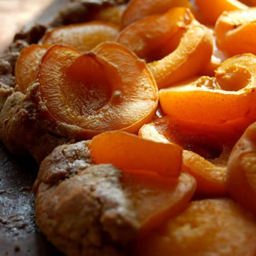 Apricot Galette with Brown Sugar Cinnamon Pastry