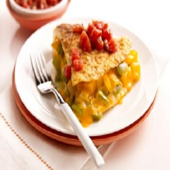 Bell Pepper-Cheese Omelet