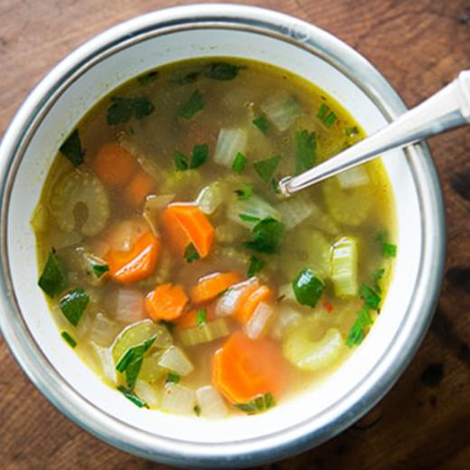 Mom's Cold-Season Chicken Soup