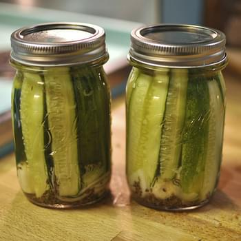 Small Batch Refrigerator Pickles