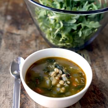 White Bean Swiss Chard Soup