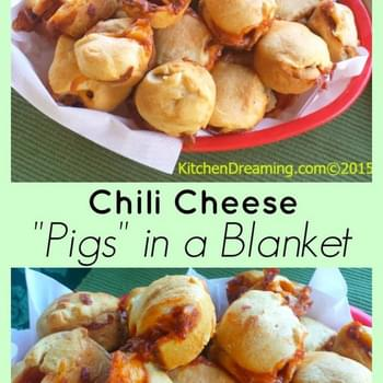 "Chili Cheese ""Pigs"" in a Blanket"