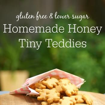 Healthier Gluten Free Homemade Honey Tiny Teddies