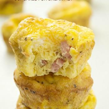 Ham and Egg Cupcakes for Breakfast