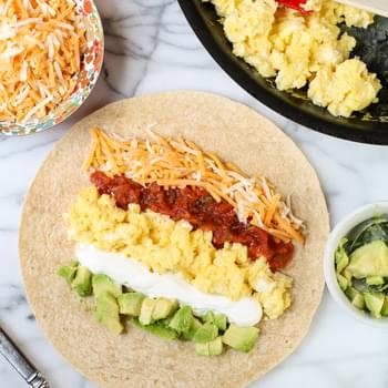 Easy Breakfast Burrito