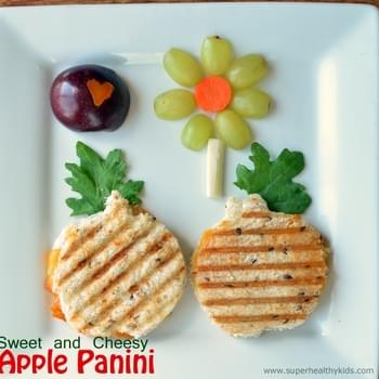 Sweet and Cheesy-Apple Panini