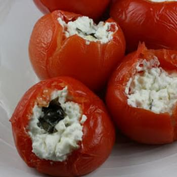 CrockPot Stuffed Tomatoes
