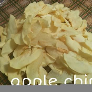 Apple Chips (vegan/clean Eats)
