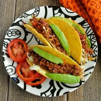 Mexican Sloppy Joe Tacos