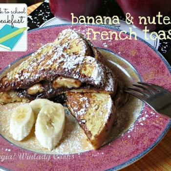 Nutella and Banana French Toast