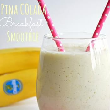 Pina Colada Breakfast Smoothie