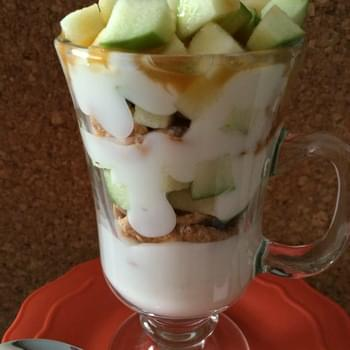 Very Vanilla Yoplait Light Caramel Apple Parfait