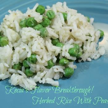 Herbed Rice With Peas!