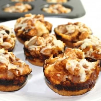 Skinny BBQ Chicken Pizza Bites