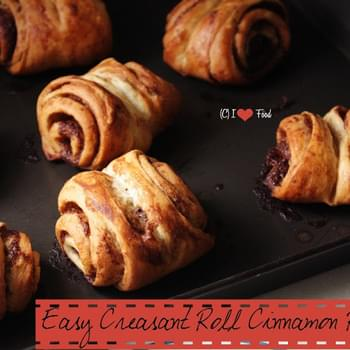 Easy Creasent Roll Cinnamon Rolls at Home