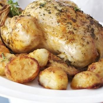 Slow-roast Chicken with Homemade Gravy