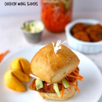 General Tso's Chicken Wing Sliders