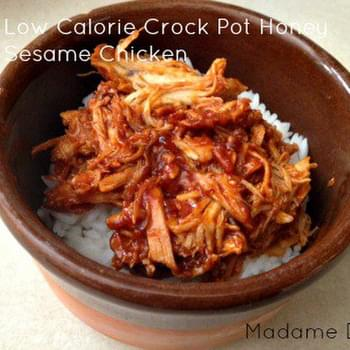 Low Calorie Crock Pot Honey Sesame Chicken