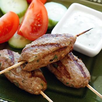 Persian Turkey Kofta Kebabs
