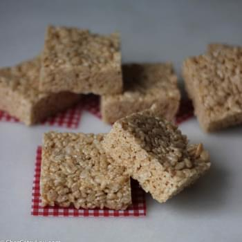 Brown Butter Rice Krispies Treats
