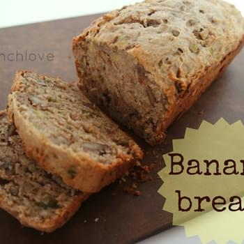 Best Banana Bread (refined Sugar Free + Vegan Friendly)