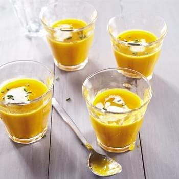 Super Easy Carrot Ginger Soup from Weelicious
