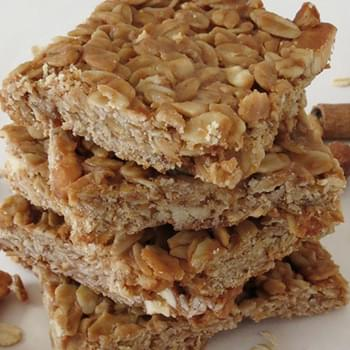 Peanut Butter and Honey Oat Bars