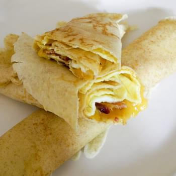 Bacon & Egg Crepes