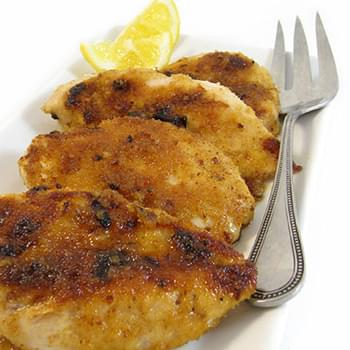 Skinny Lemon Glazed Chicken, Sweet and Sassy