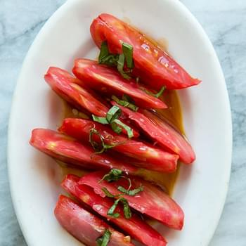 Tomato Salad with Soy Sauce